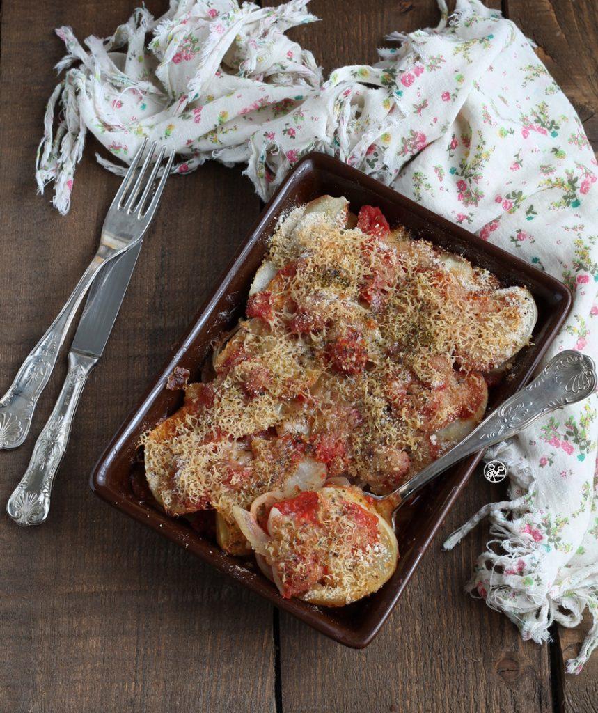 Gratin de pommes de terre sans gluten - La Cassata Celiaca