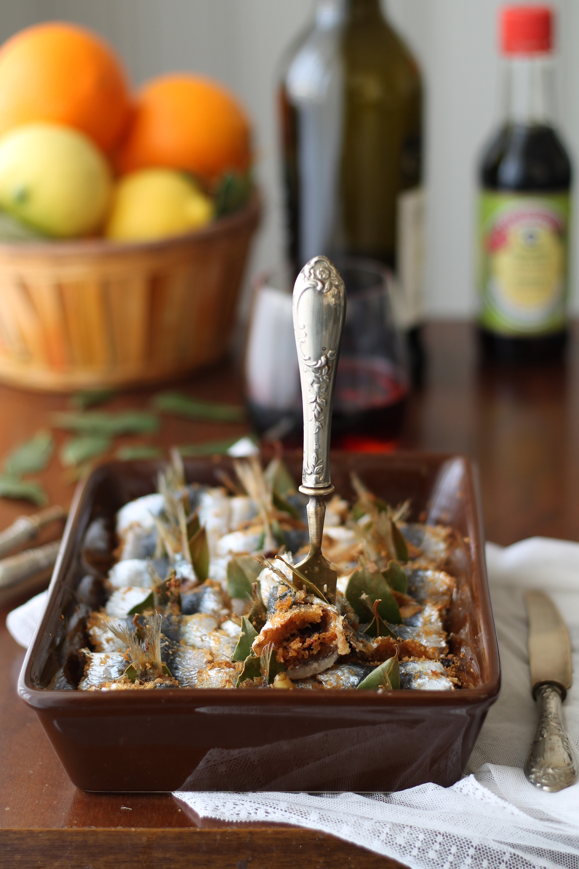 Sardines farcies à la sicilienne sans gluten - La Cassata Celiaca