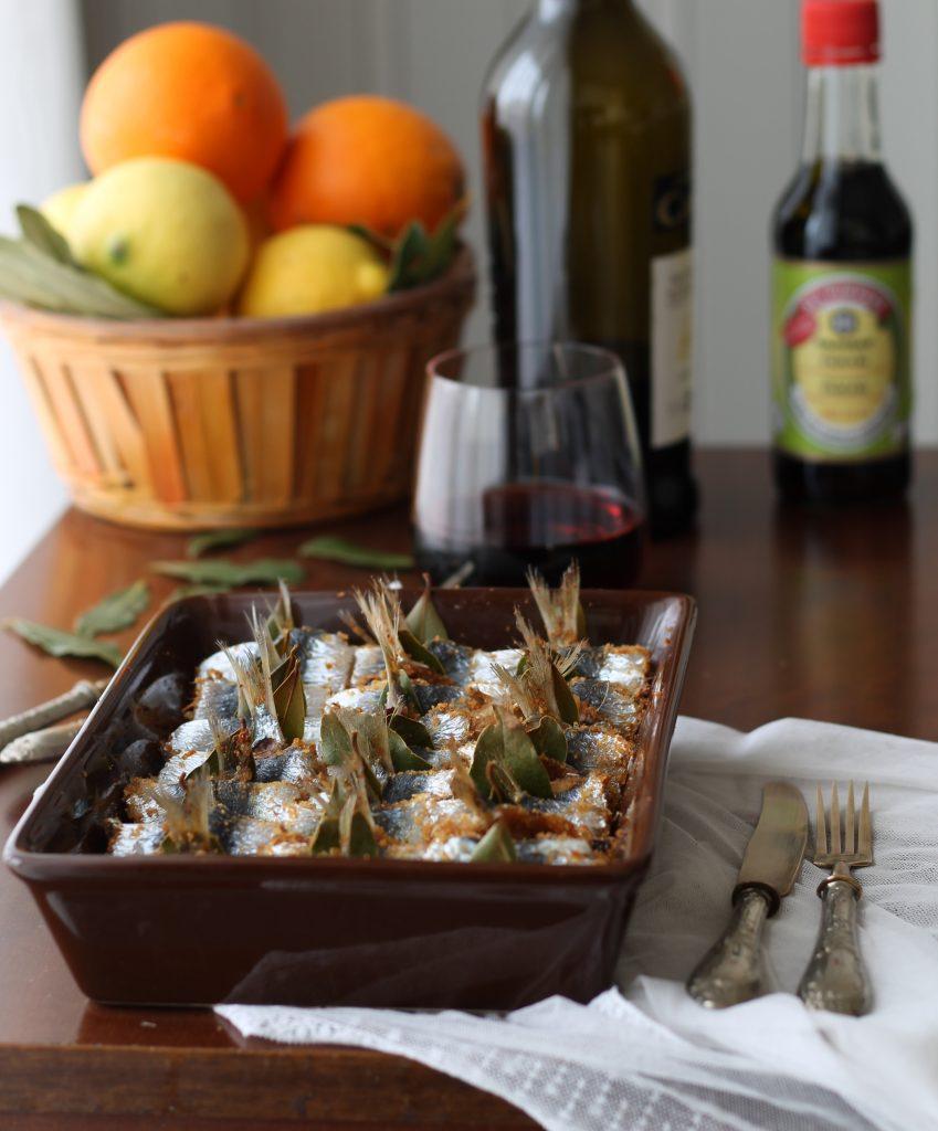 Sarde a beccafico senza glutine per Ifood - La Cassata Celiaca