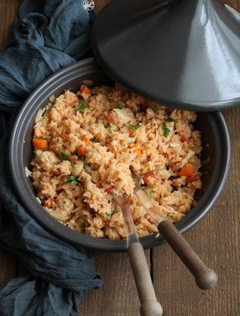 Tajine di pollo e riso basmati - La Cassata Celiaca