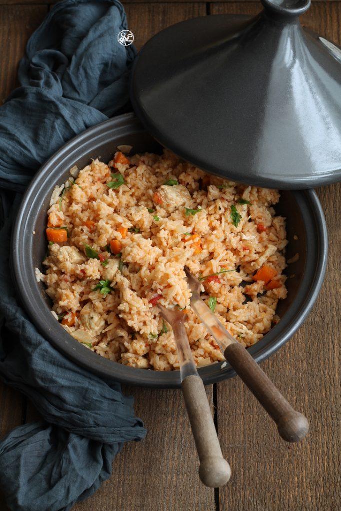 Tajine de poulet et riz basmati - La Cassata Celiaca