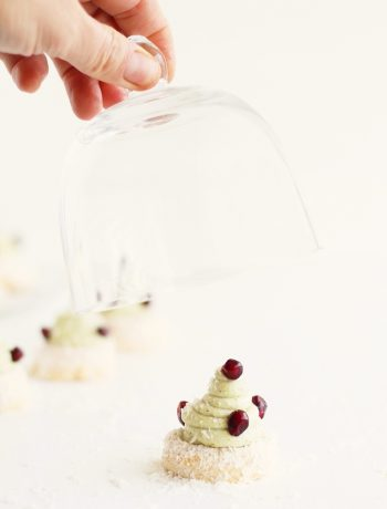 Meringue coco-pistache sans gluten - La Cassata Celiaca