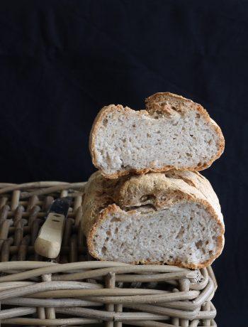 Pane senza glutine con farine naturali, no mix - La Cassata Celiaca