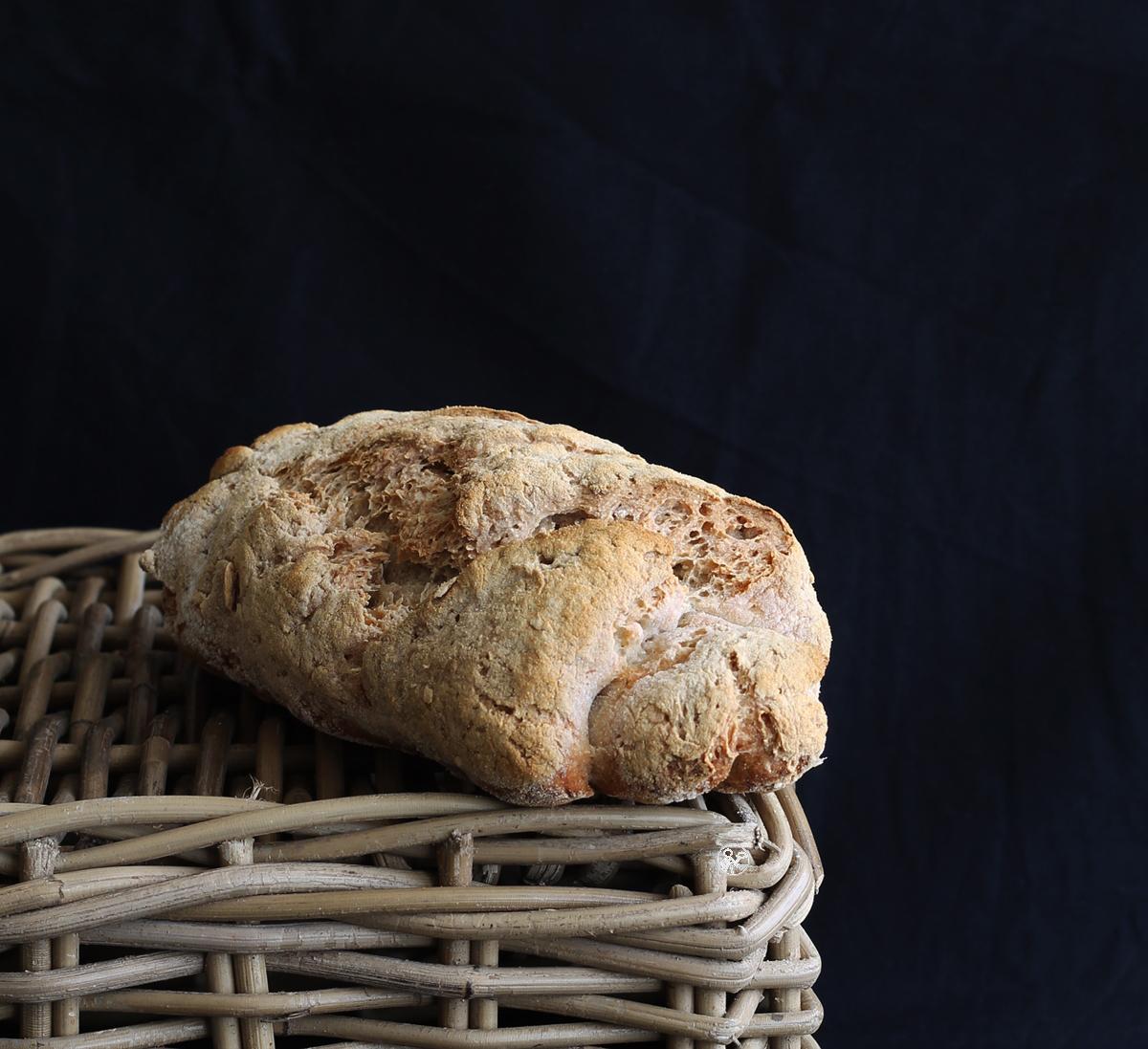 Pain au levain sans gluten et sans mix du commerce - La Cassata Celiaca