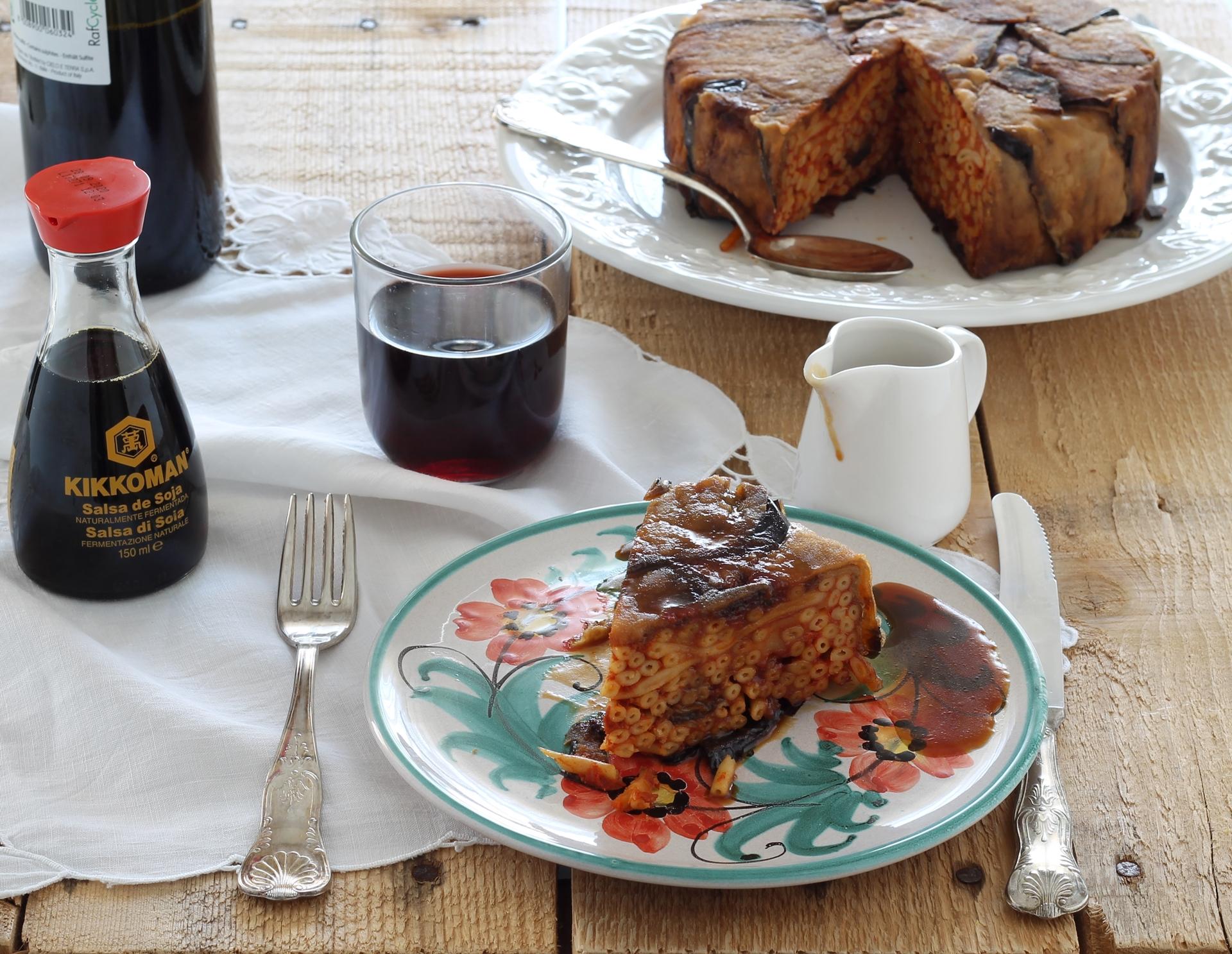 Timbale de bucatini à la sicilienne sans gluten- La Cassata Celiaca