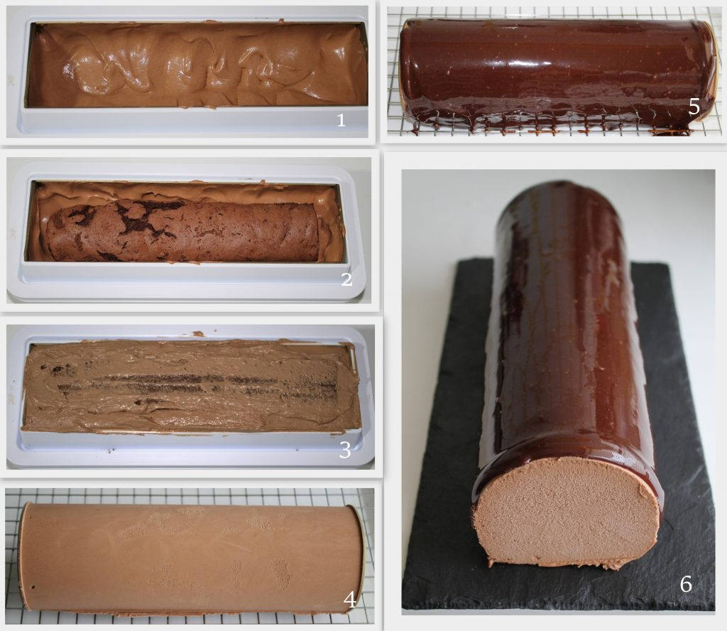 Tronchetto al doppio cioccolato senza glutine - La Cassata Celiaca