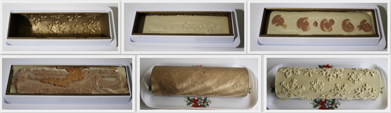 Bûche pistache-chocolat sans gluten - La Cassata