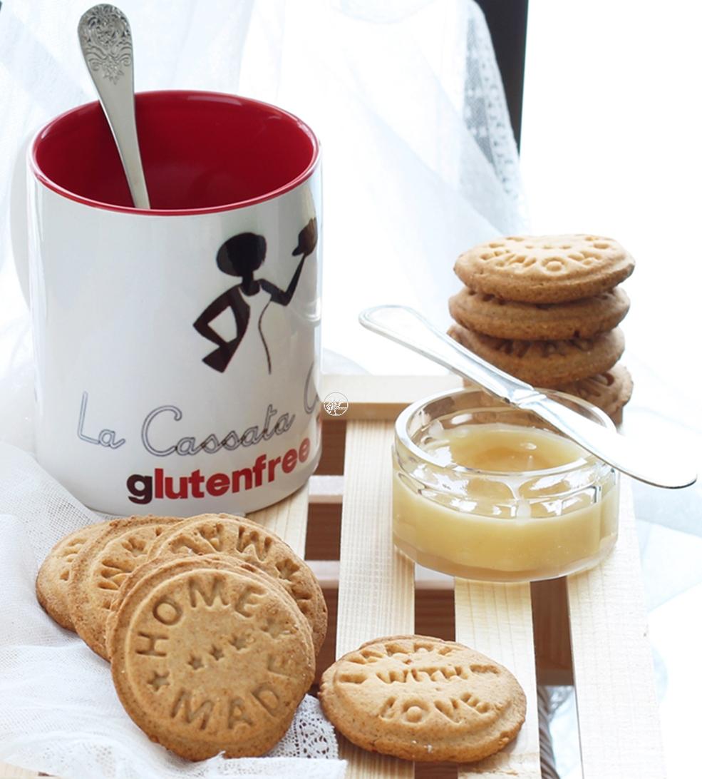 Biscotti al miele e arancia senza glutine e senza uova - La Cassata Celiaca