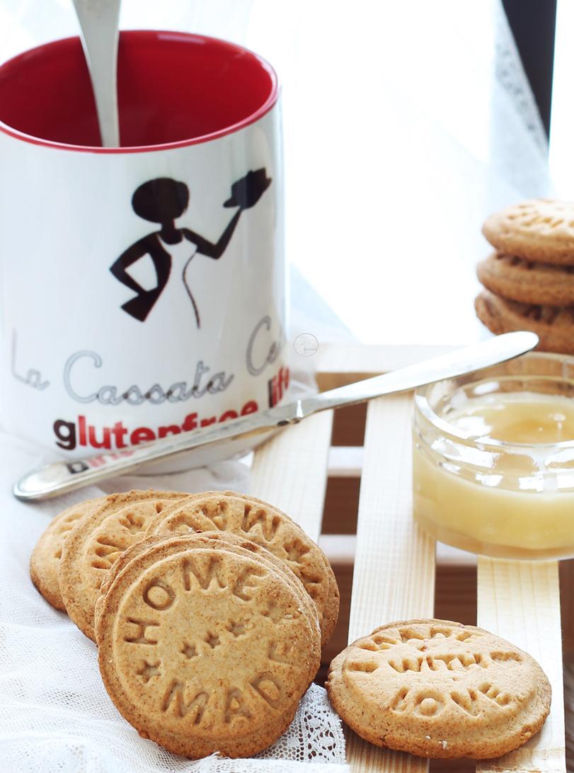 Biscotti al miele e arancia senza glutine e senza uova - La Cassata Celiac