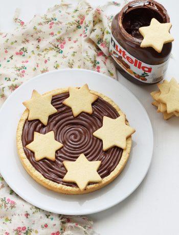 Tarte au Nutella sans gluten- La Cassata Celiaca