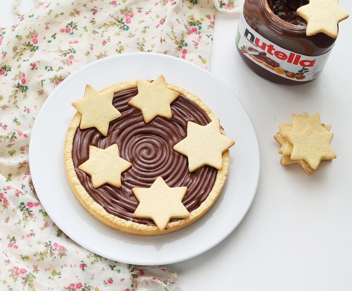 Crostata con Nutella senza glutine - La Cassata Celiaca