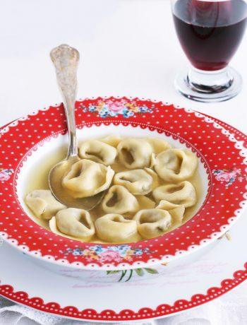 Tortellini aux champignons sans gluten pour Nutrifree - La Cassata Celiaca