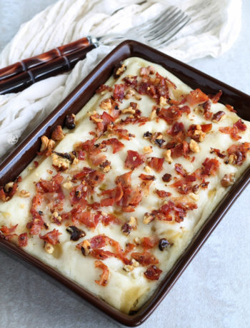 Cannellonis sans gluten avec ricotta et artichauts – La Cassata Celiaca