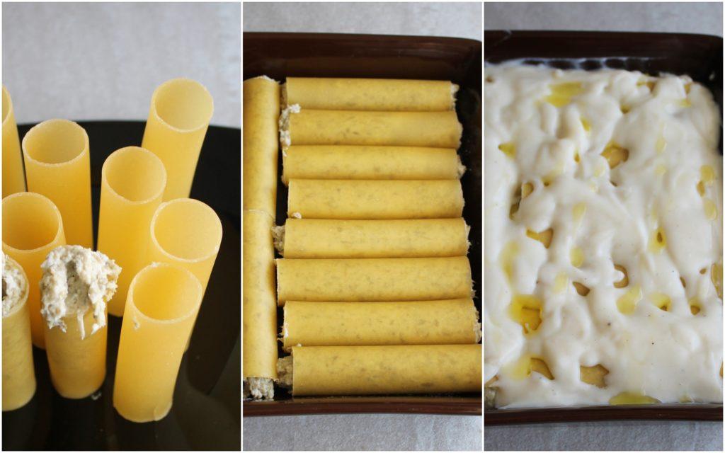 Cannelloni con ricotta e carciofi senza glutine - La Cassata Celiaca
