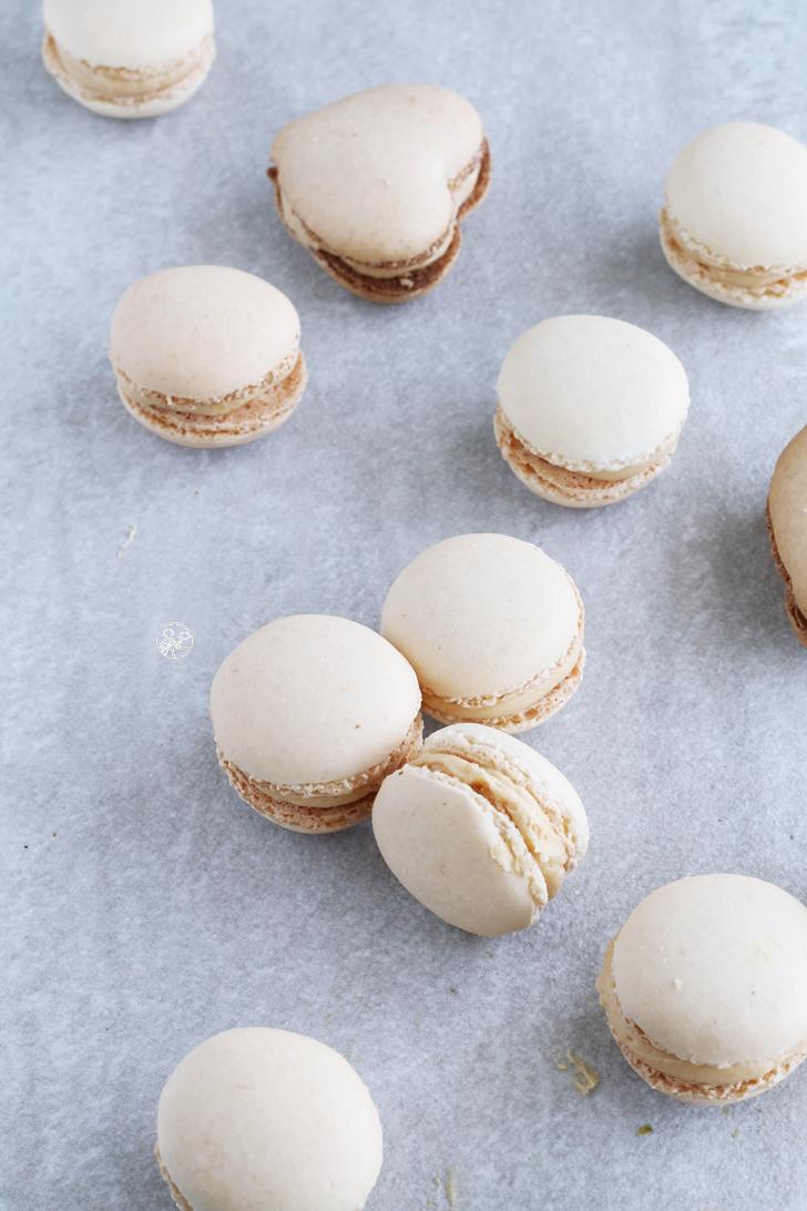 Macarons con crema al caramello senza glutine - La Cassata Celiaca