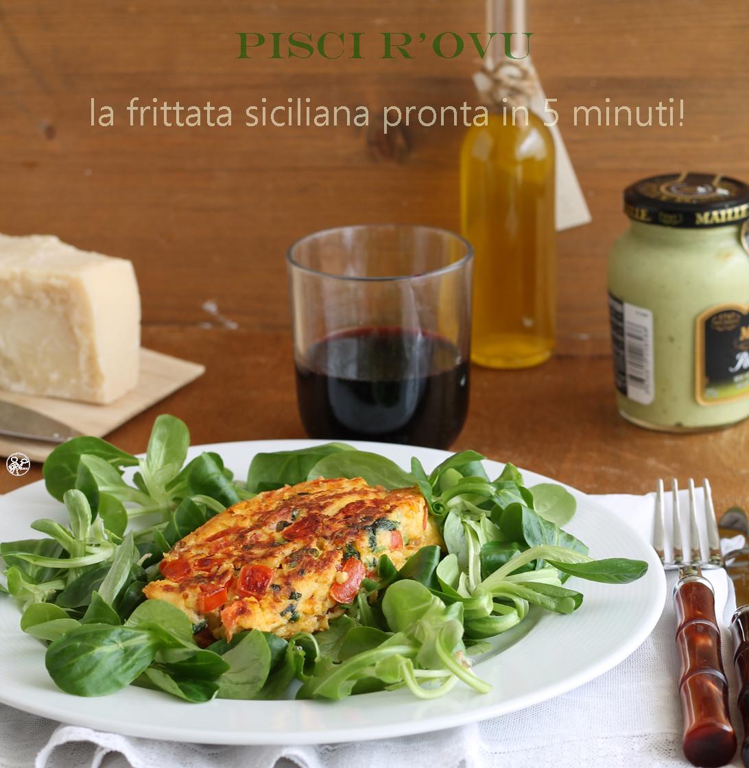 Pisci r'ovu, la frittata siciliana- La Cassata Celiaca