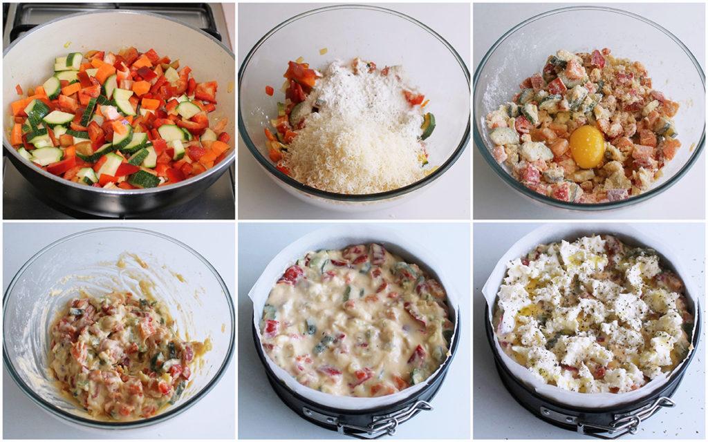 Torta di verdure senza glutine - La Cassata Celiaca