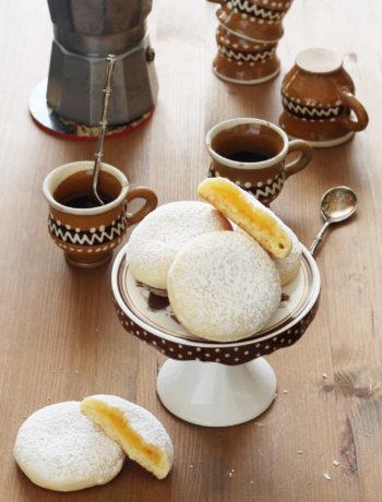 Biscuits fourrés à la crème de citron sans gluten - La Cassata Celiaca