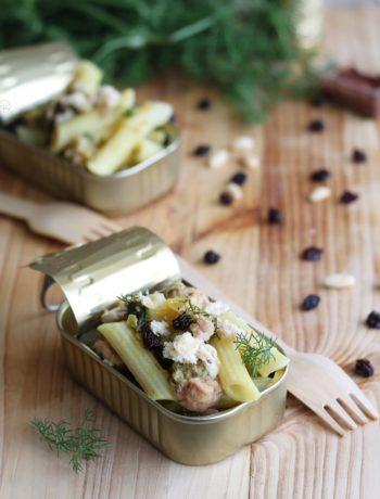 Pennette con tonno e finocchietto senza glutine - La Cassata Celiaca