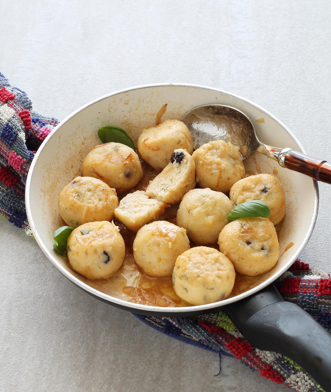 Boulettes de pain rassis au vin Marsala sans gluten - La Cassata Celiaca