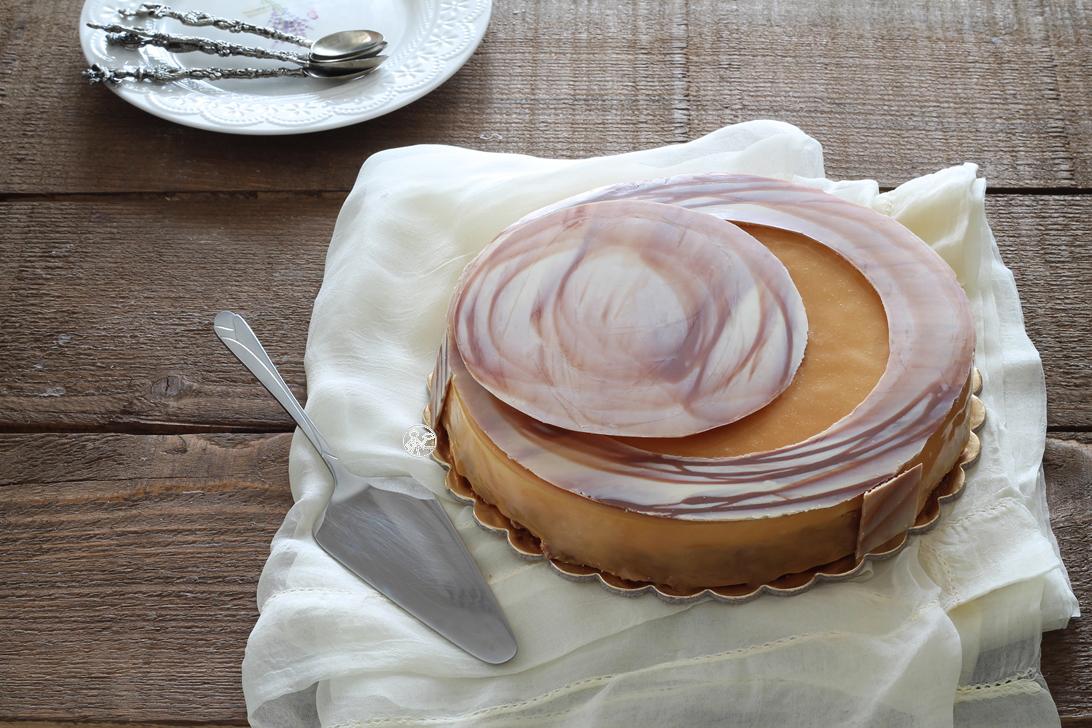 Torta vaniglia-caramello senza glutine - La Cassata Celiaca