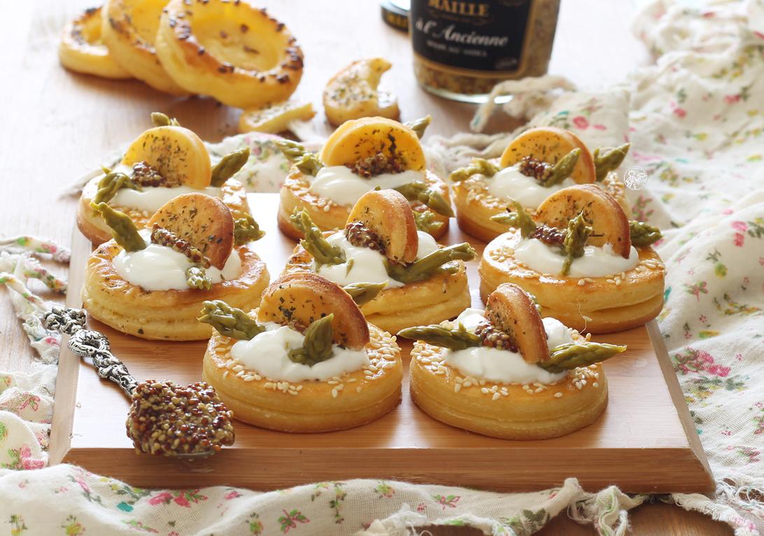 Feuilletés aux asperges et yaourt sans gluten - La Cassata Celiaca