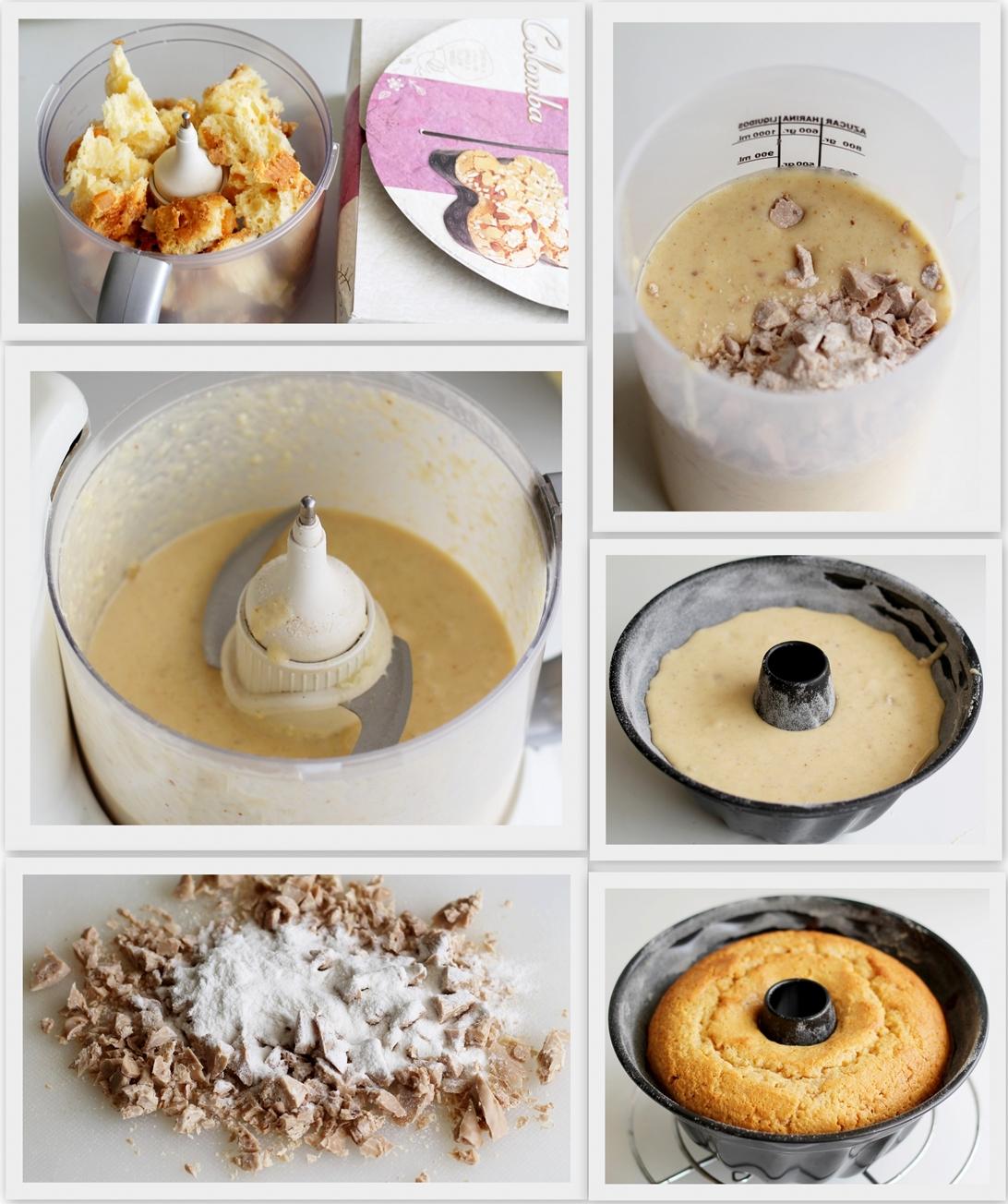Ciambella senza glutine, come riciclare la colomba - La Cassata Celiaca