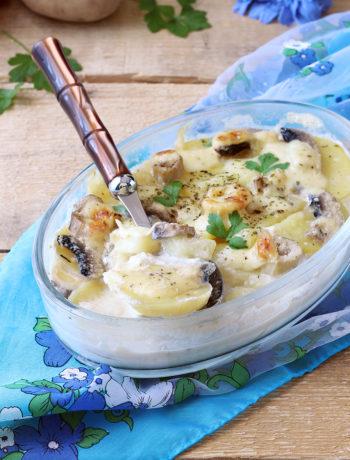 Pasticcio di patate e funghi - La Cassata Celiaca
