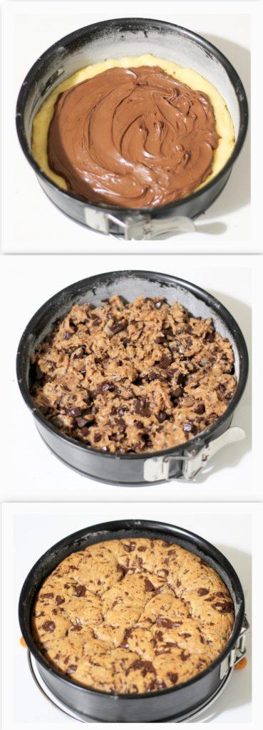 Cookie cake sans gluten - La Cassata Celiaca