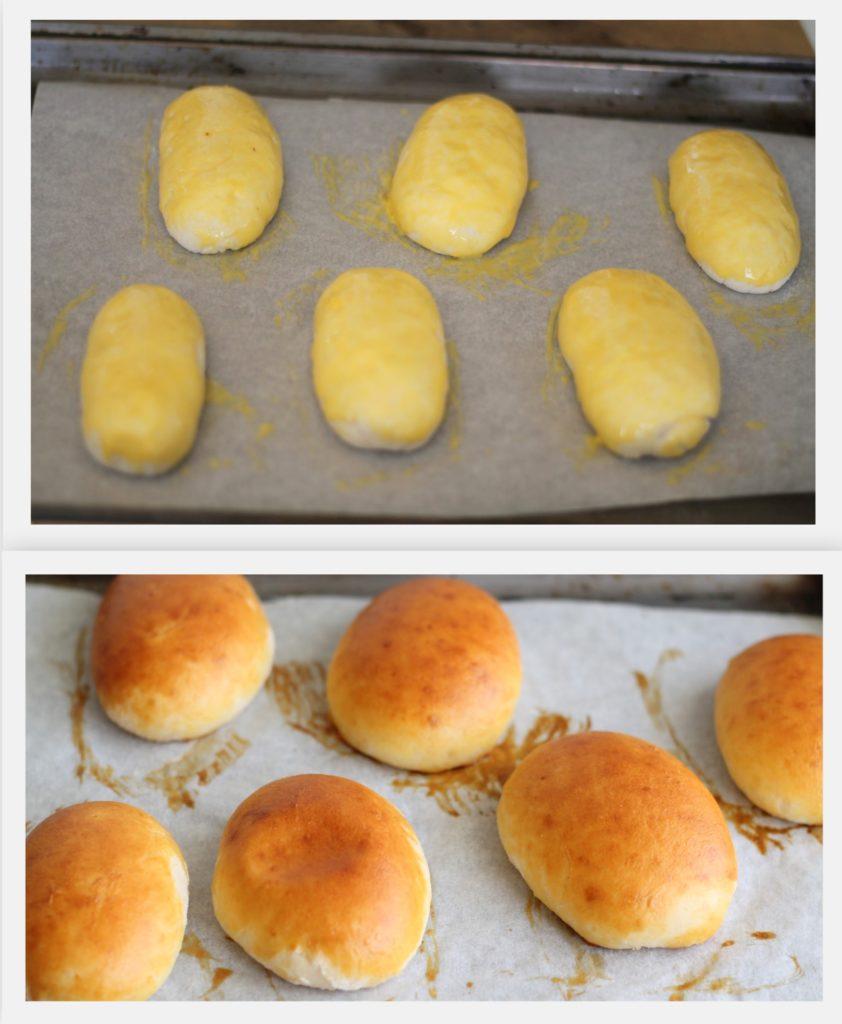 Petits pains de pâte brioche sans gluten - La Cassata