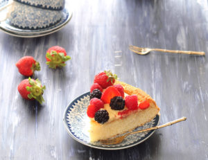 Torta Californiana senza glutine - La Cassata Celiaca