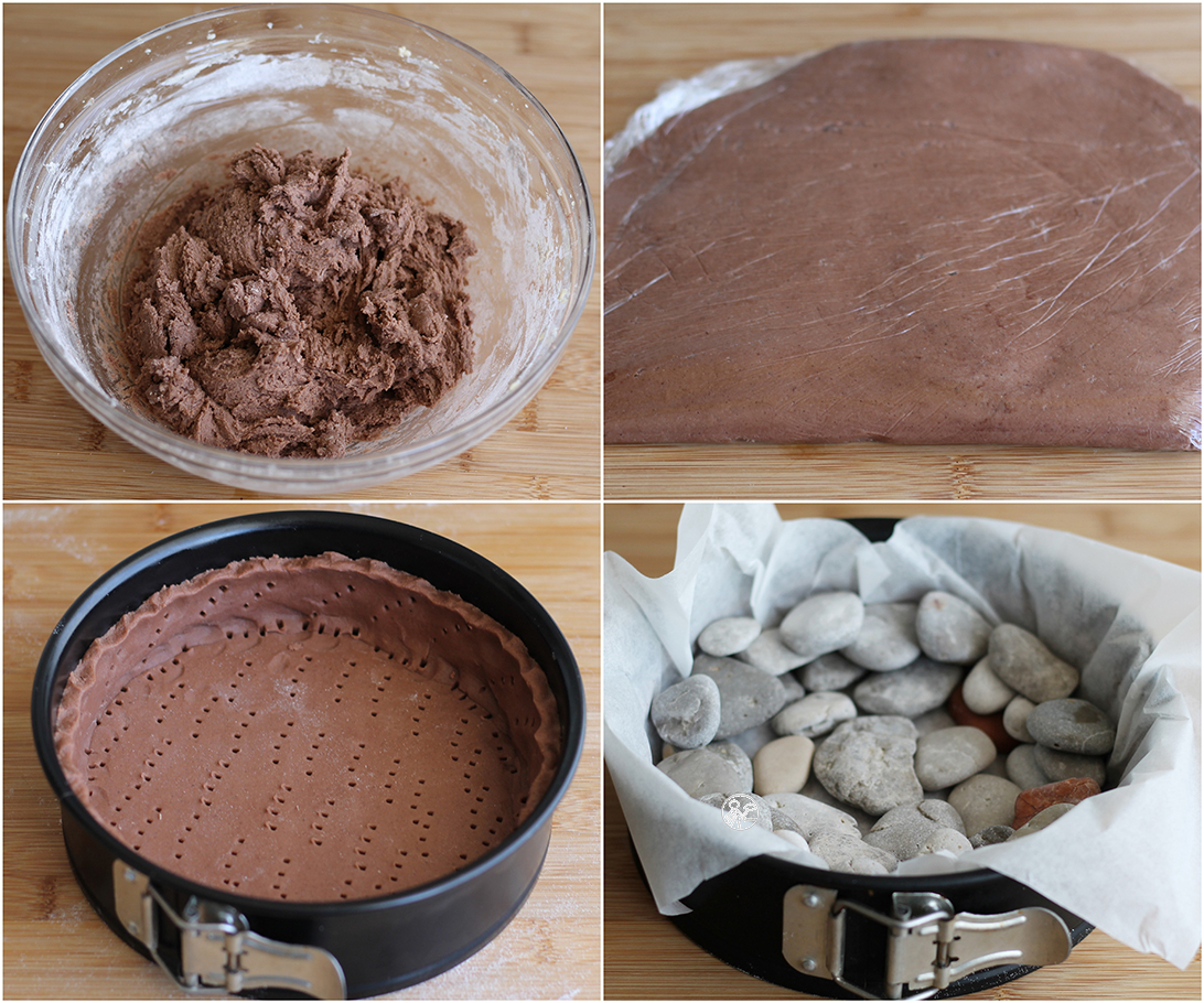 Pasta frolla al cacao senza glutine- La Cassata Celiaca