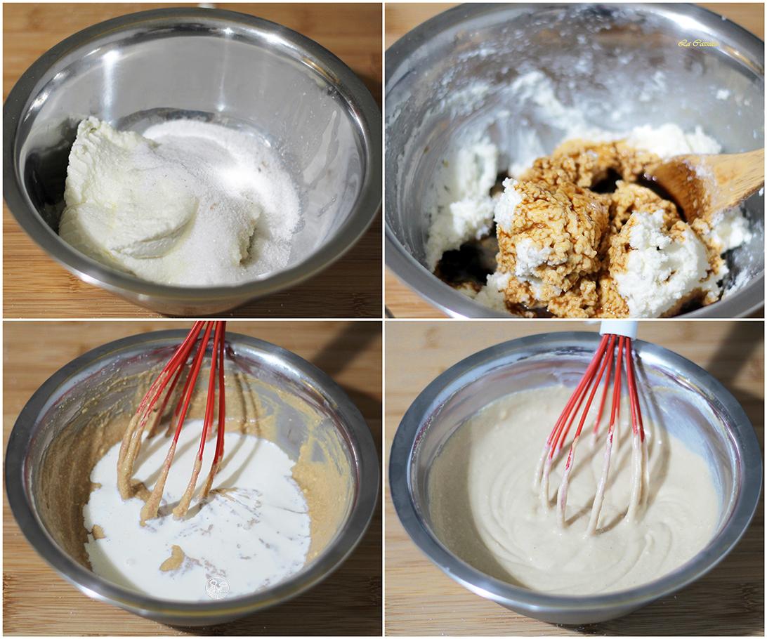 Crema di ricotta e caffè- La Cassata Celiaca