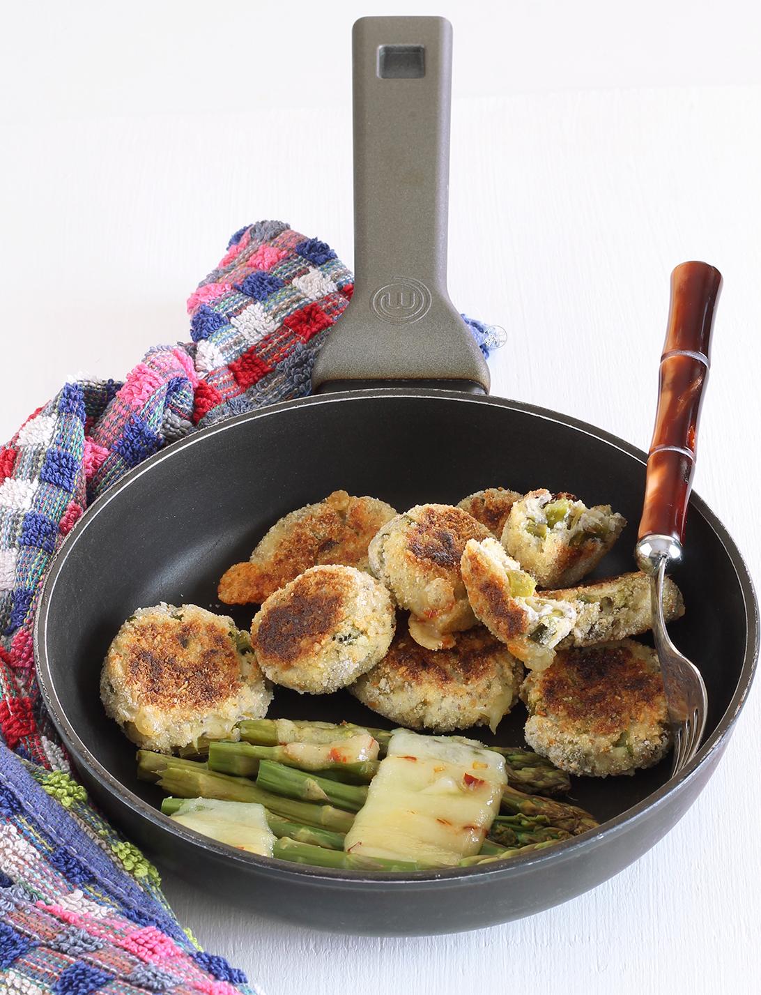 Polpette senza glutine con ricotta e asparagi - La Cassata Celiaca