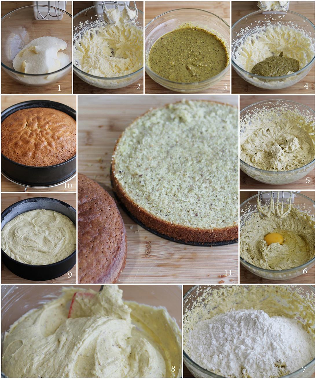 Moelleux sans gluten au chocolat et pistaches - La Cassata Celiaca