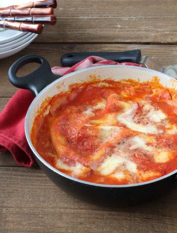 Lasagne senza glutine cotte in padella - La Cassata Celiaca