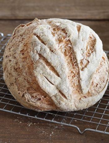 Pane senza glutine con patate pepe nero - La Cassata Celiaca