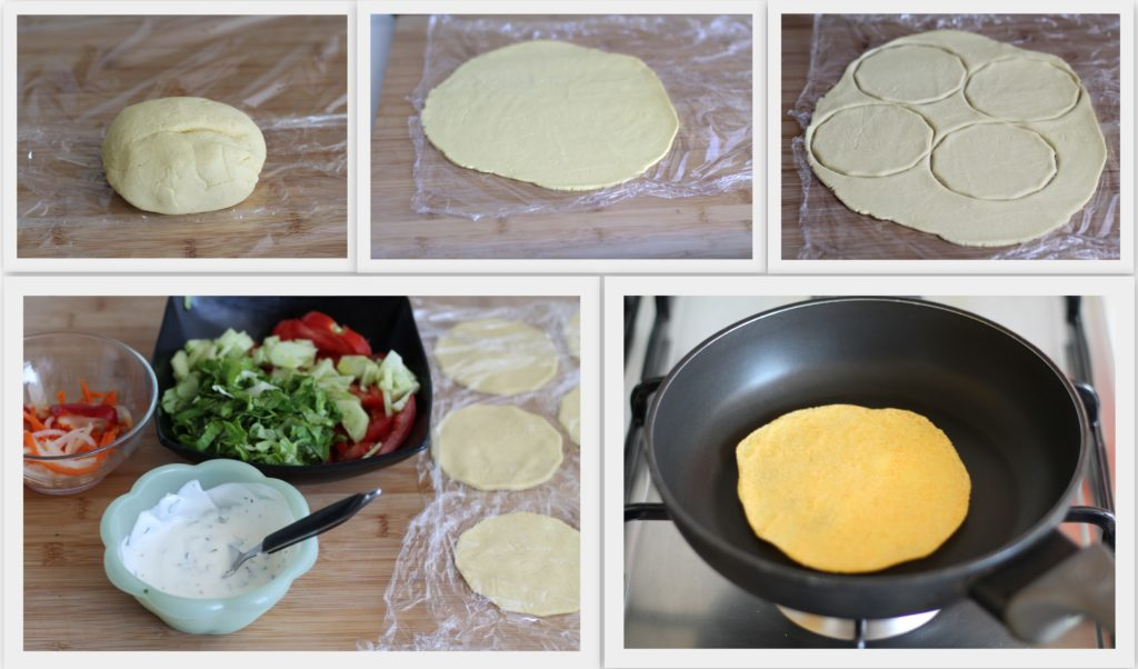 Tacos sans gluten végétariens - La Cassata