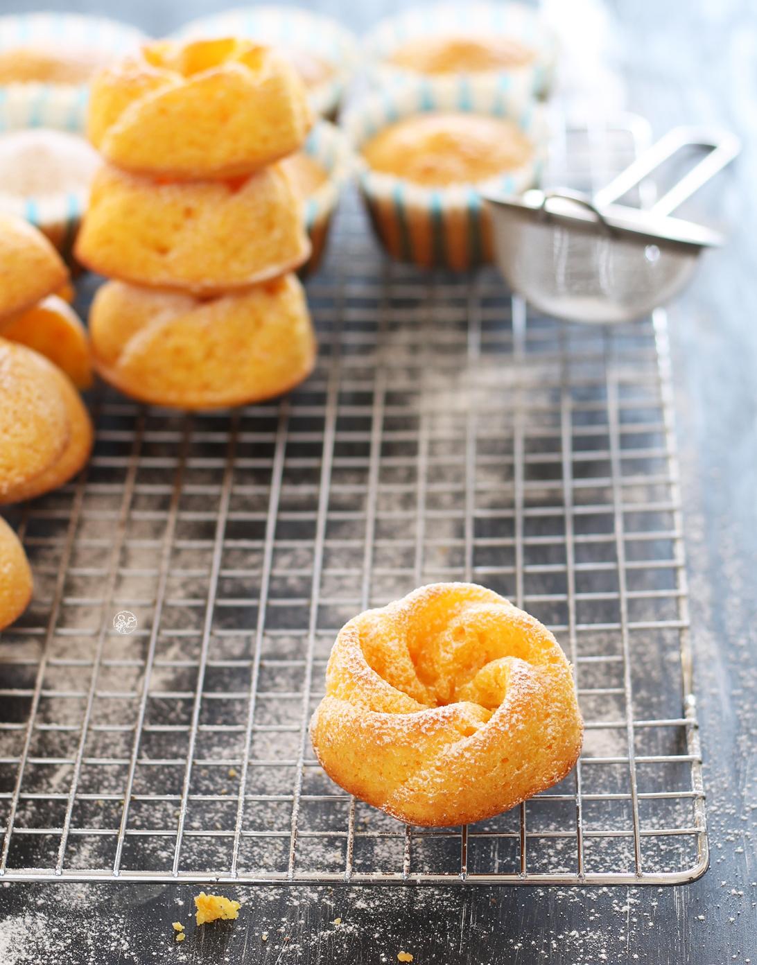 Tortine alle carote senza glutine, simil camille - La Cassata Celiaca