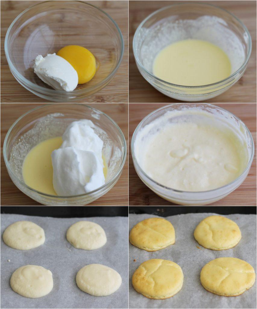 Cloud bread alla caprese senza glutine - La Cassata Celiaca
