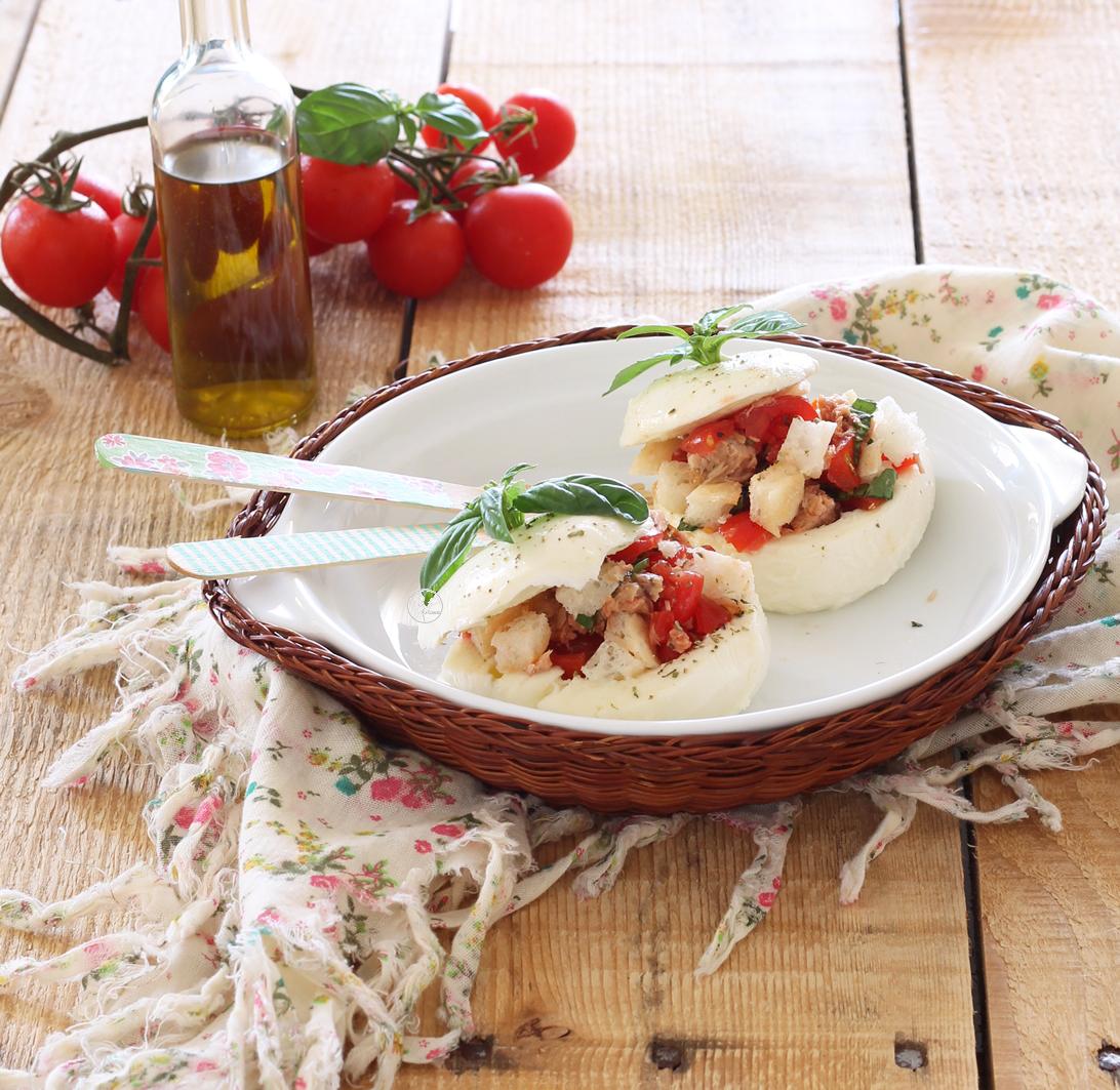 Mozzarella ripiena senza glutine e senza cottura - La Cassata Celiaca