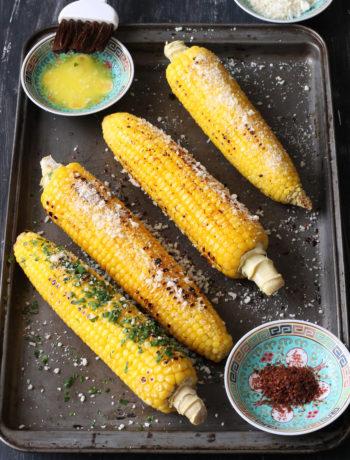 Pannocchie di mais alla messicana - La Cassata Celiaca