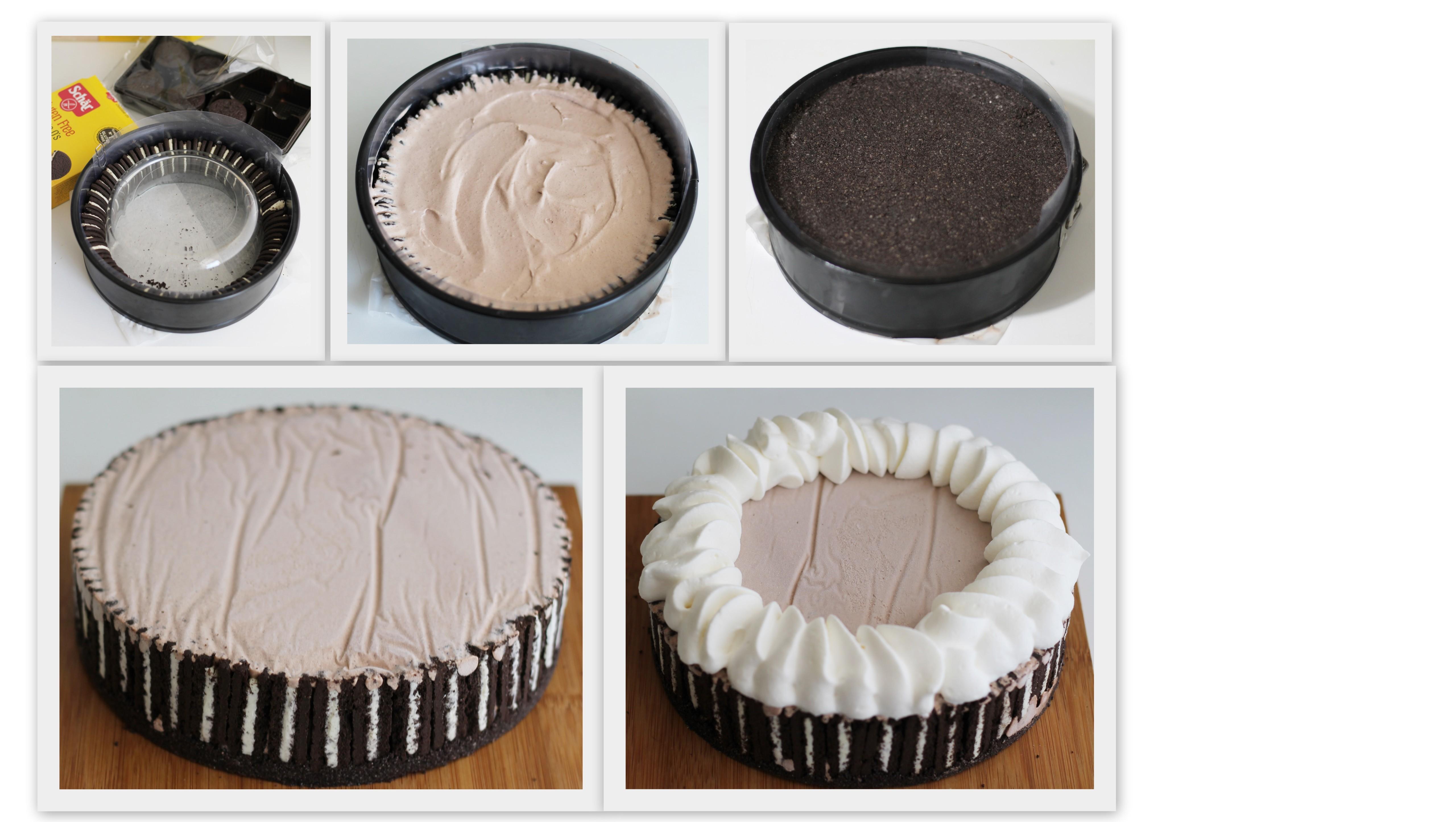 Gâteau glacé Oreo sans gluten - La Cassata