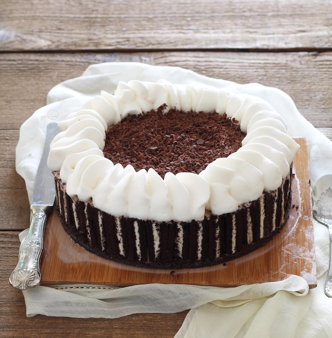 Torta gelato Oreo senza glutine - La Cassata Celiaca