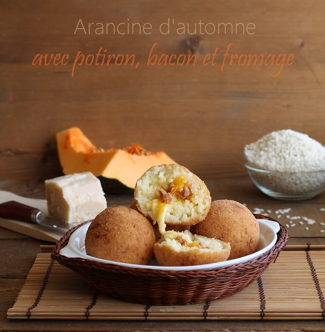 Arancine au potiron sans gluten - La Cassata Celiaca