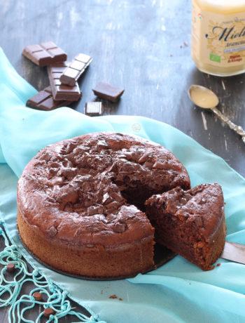 Cake au chocolat sans gluten et sans œufs - La Cassata Celiaca