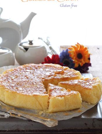 Gâteau fondant au citron sans gluten - La Cassata Celiaca