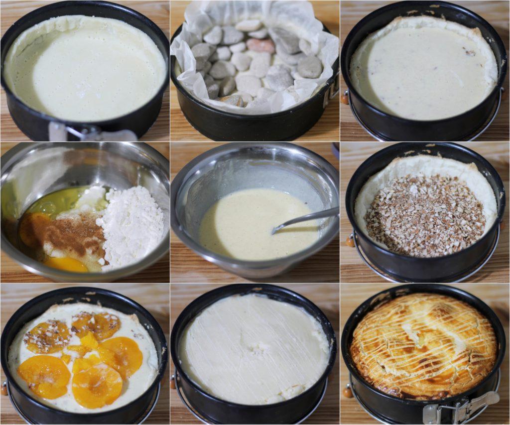 Crostata ripiena alle pesche senza glutine - La Cassata Celiaca