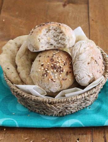 Mix de farines naturelles sans gluten pour pain et pizza - La Cassata Celiaca