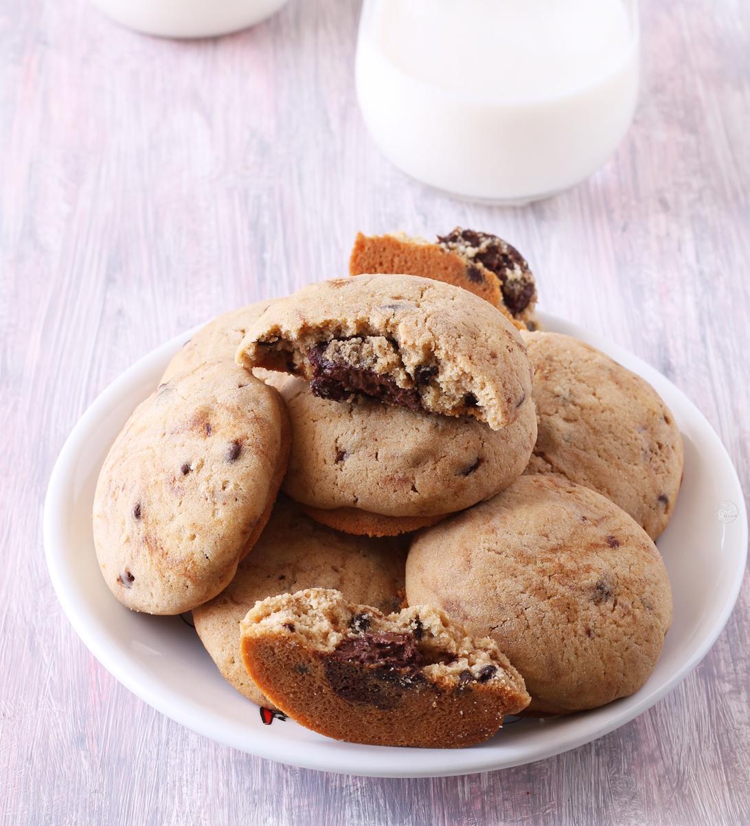 Biscottoni ciocco-caffè alla Nutella senza glutine - La Cassata Celiaca